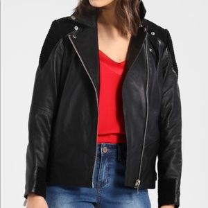 Y.A.S Yaslina Leather Jacket